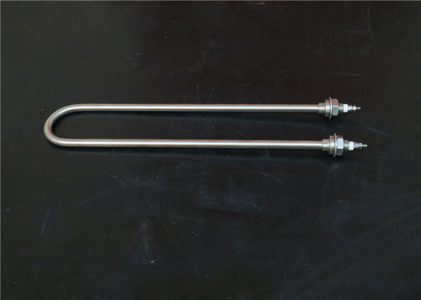 SS304 Incoloy Sheathed Tubular Heating Elements , U Shaped Heating Element